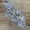 Thumbnail: Ivory Beaded Lace Off Cut #9063