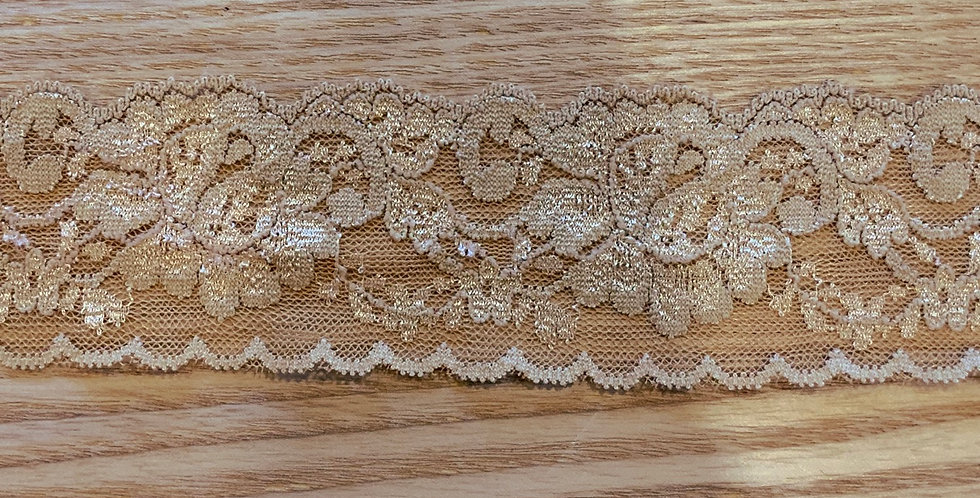 Old Gold Stretch Lace...
