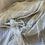 Thumbnail: Ivory Crinkle Polyester Chiffon