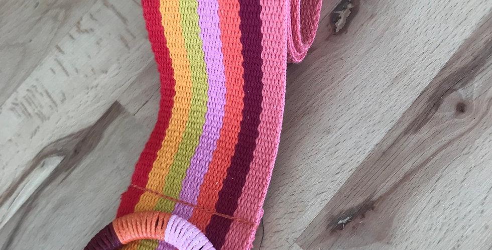 Rainbow cotton belt