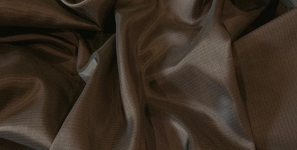 3mtr Bundle Dark Chocolate Micro Pinstripe Acetate Lining
