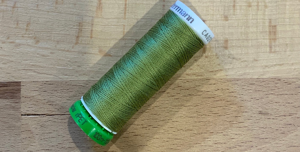Gutermann 100mtr Thread Light Khaki Green 582