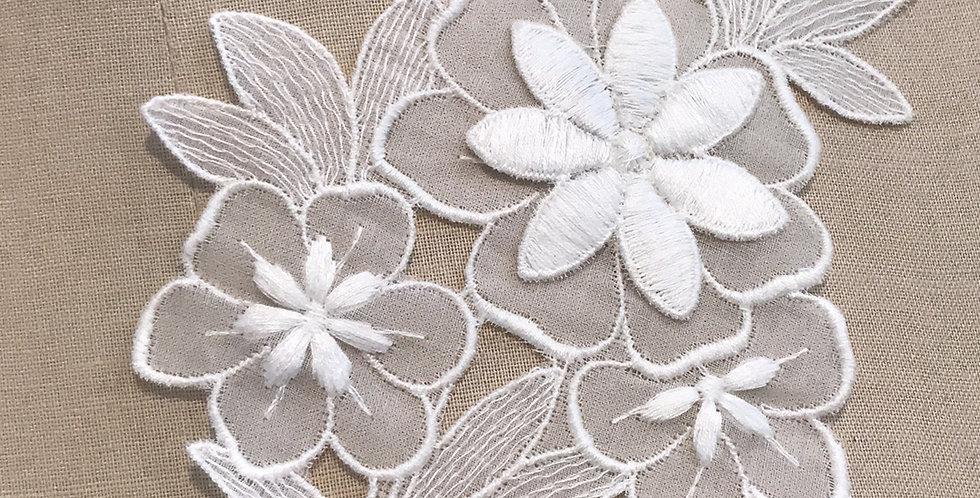 Vintage bloom motif