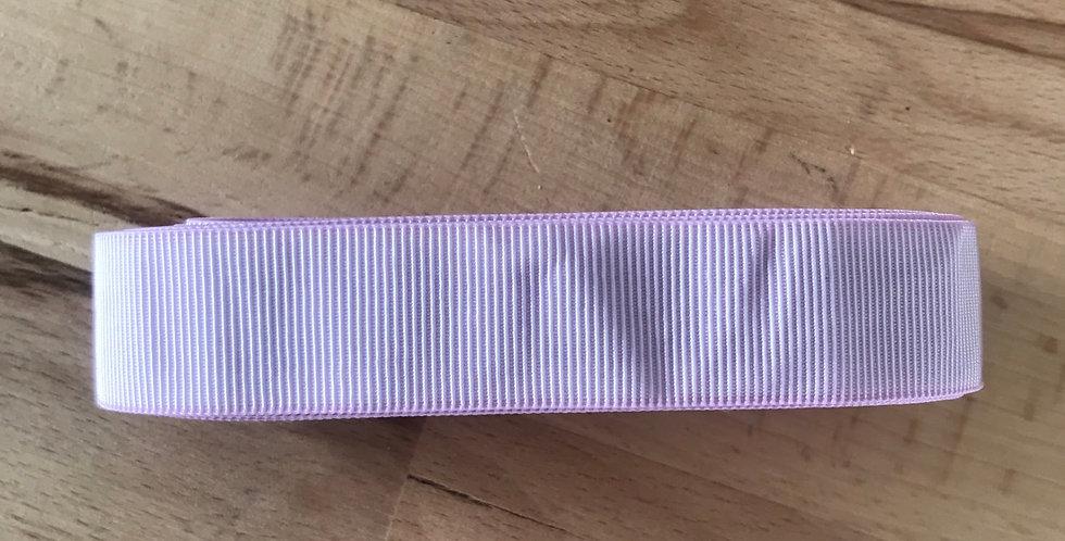 3 metres mauve self stripe elastic