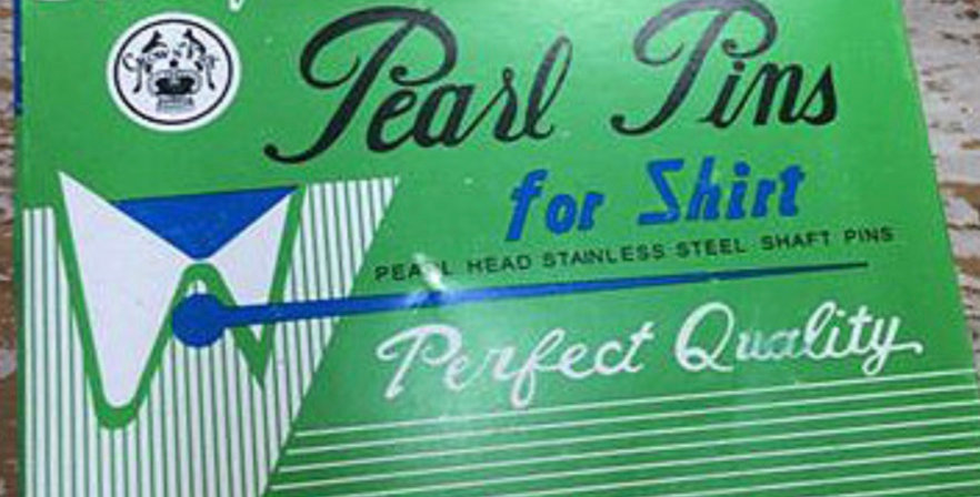 Box of Pearl Head Pins