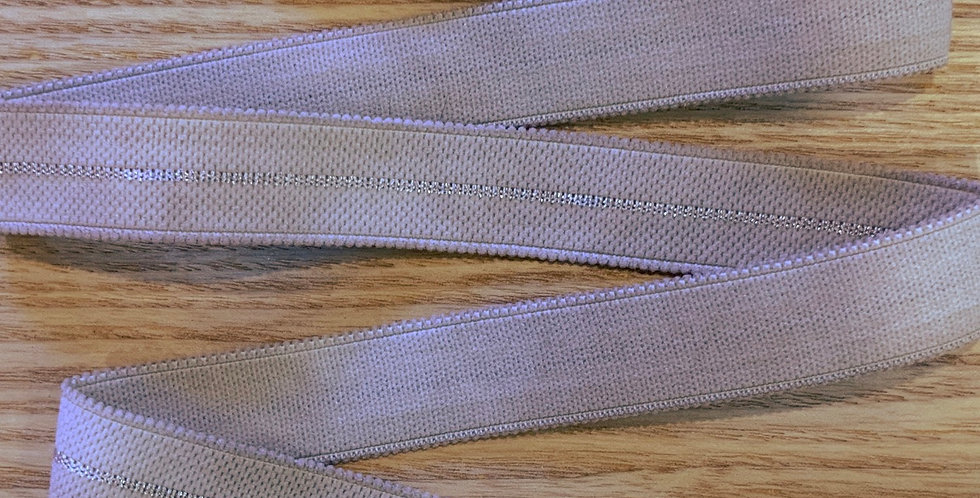 Mottled Pale Mocha Decorative Stretch Strapping....