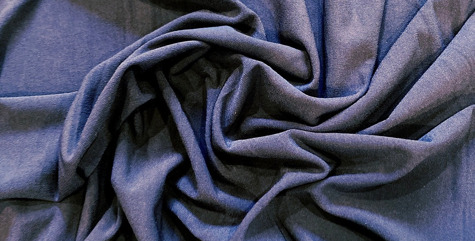 charcoal polyester jersey remnant