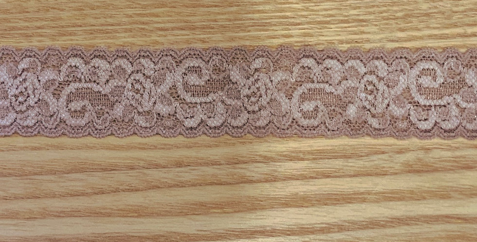 Mocha Hand Dyed Stretch Lace...