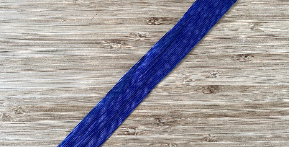 25cm royal blue invisible zip