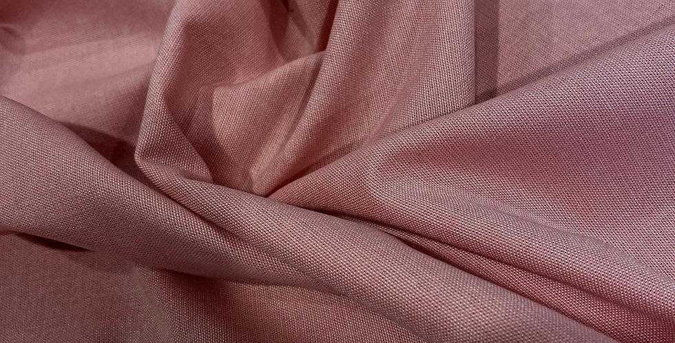 art gallery fabrics yarn dyed rose pink chambray