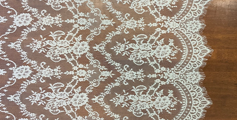 Bree White Chantilly Lace....