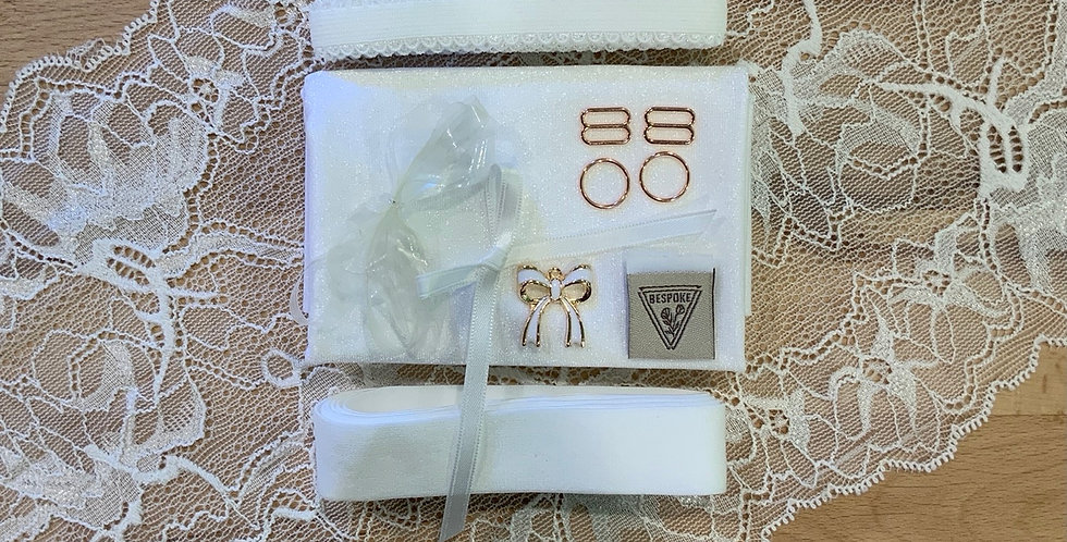 Willow White Bralette Kit #8