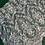 Thumbnail: Pale Ivory eyelash Lace Piece #4004