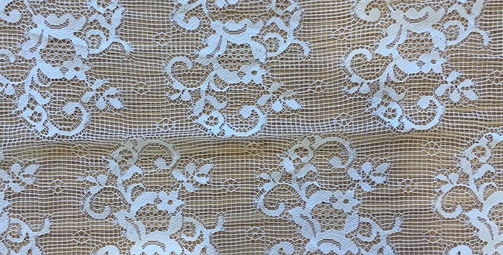 Ivory Nylon Lace ...