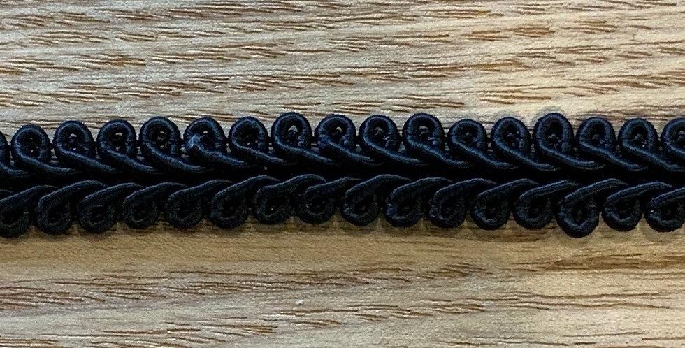 Black Gimp Braid