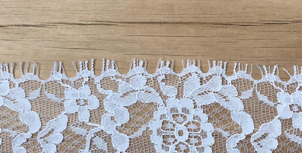 Valentine chantilly lace trim