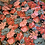 Thumbnail: Dusty Blue Floral Embroidered Mesh....