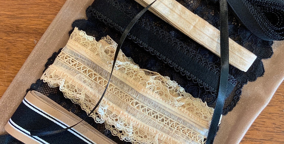 Gold Feather Lingerie Pack...
