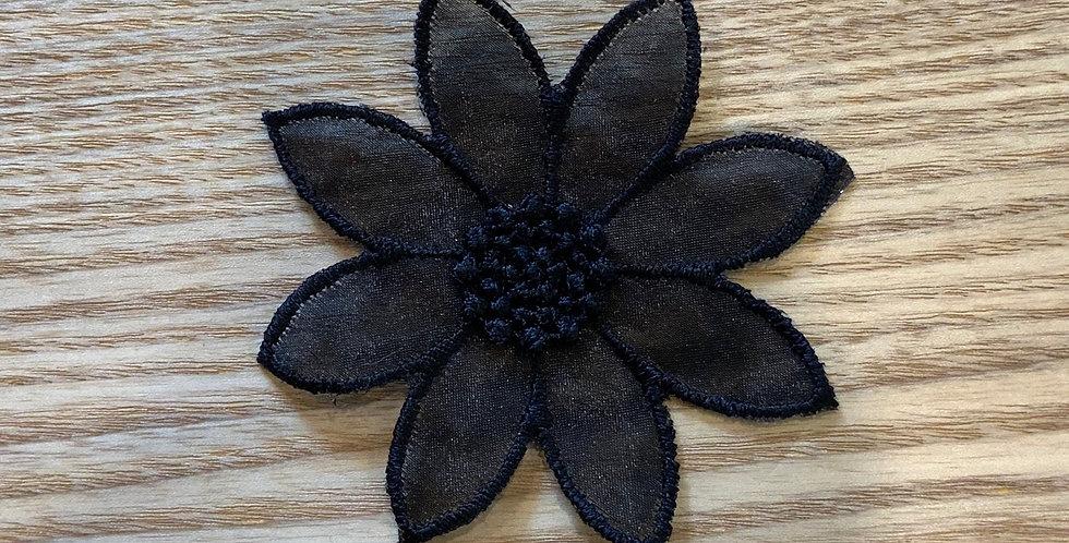 Black Organza Daisy...