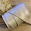 Thumbnail: Golden Sand 18mm Satin Strapping Elastic…