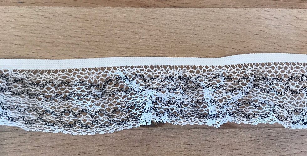 Wide Lace Frill Elastic...