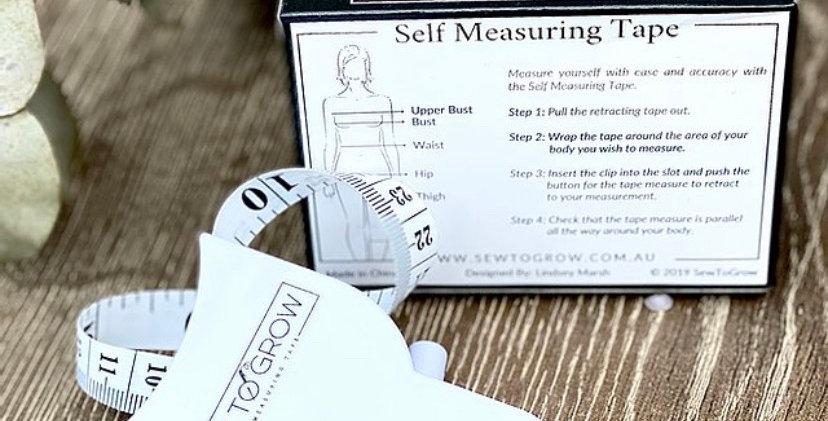 sew to grow self measuring tape