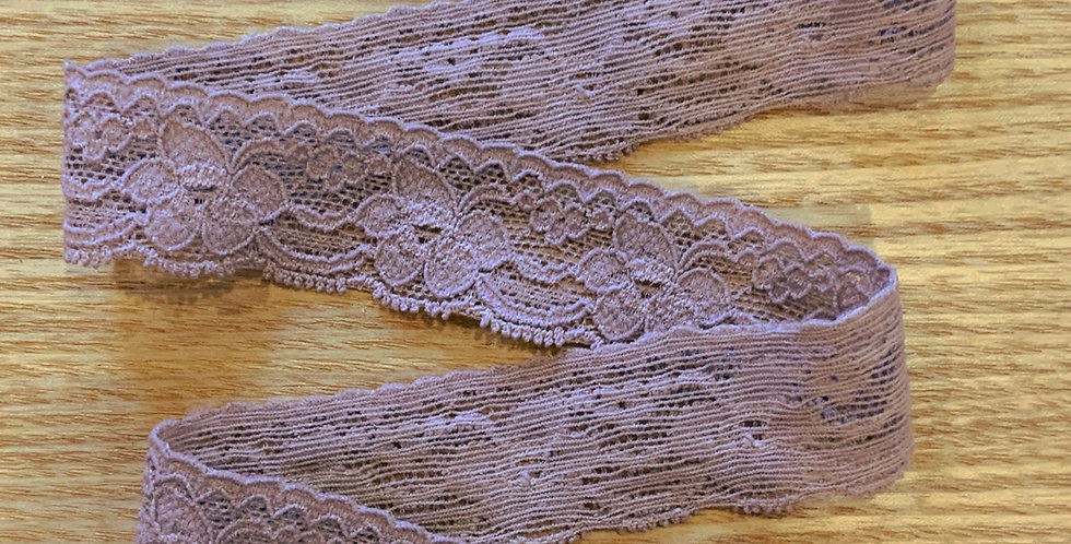 Dusty Lavender Stretch Lace...
