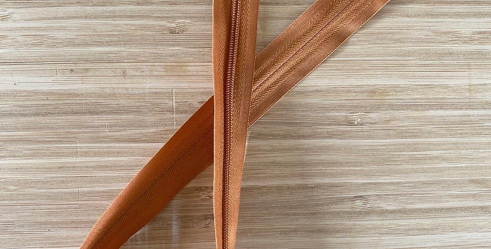 copper 55cm invisible zip