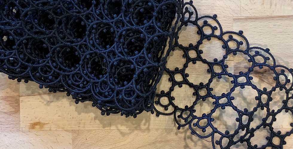 3mtr Bundle Vatican Black Lace Trim...