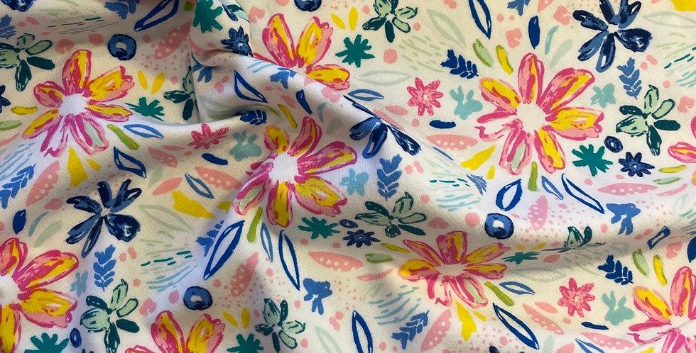 art gallery fabrics summer shine jersey