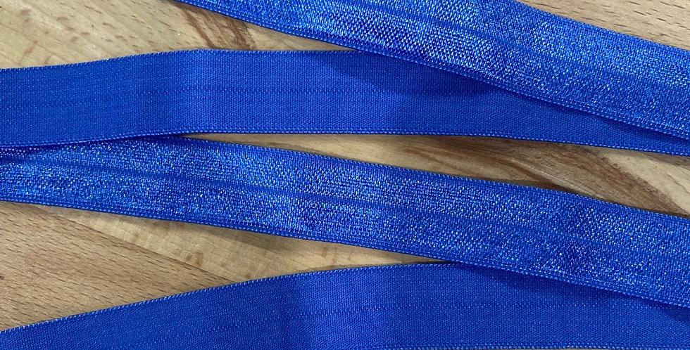 jacaranda blue foldover elastic