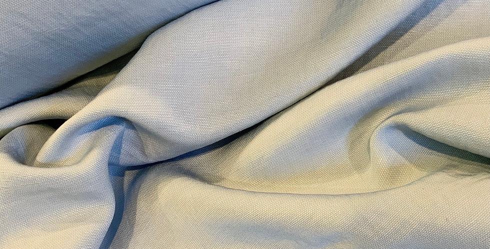Powder Blue Viscose Linen Textured Suiting