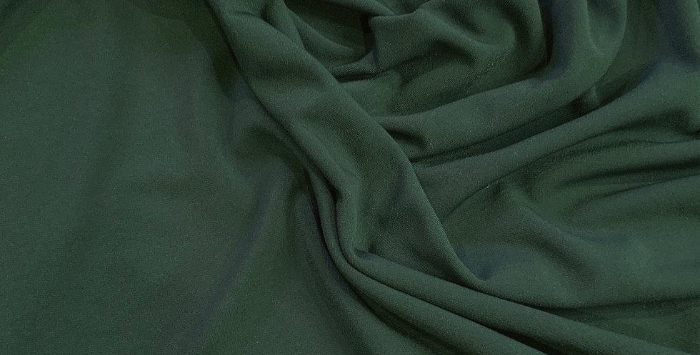 Dark Jade Polyester Jersey Remnant