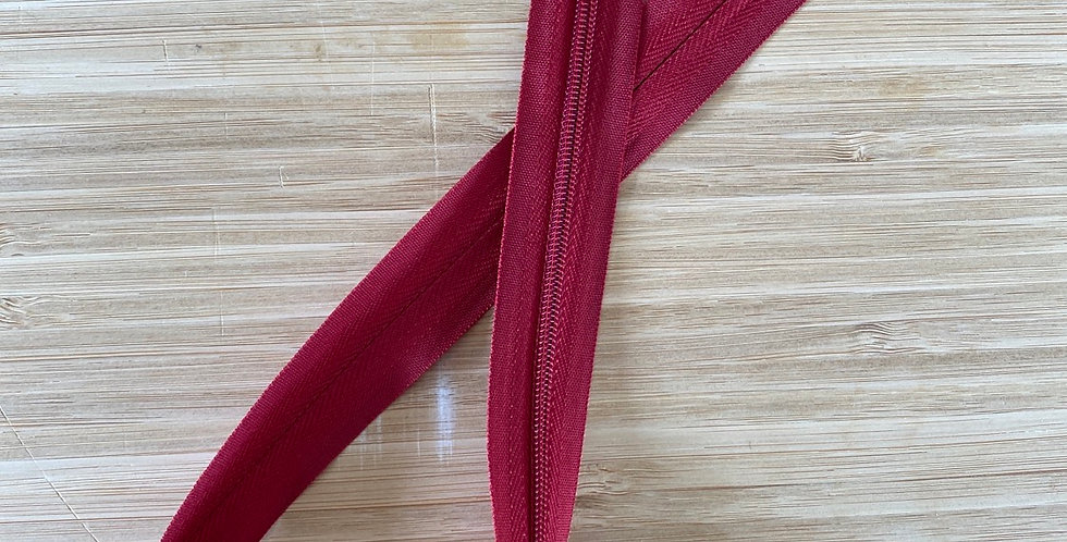Ruby 55cm invisible zip