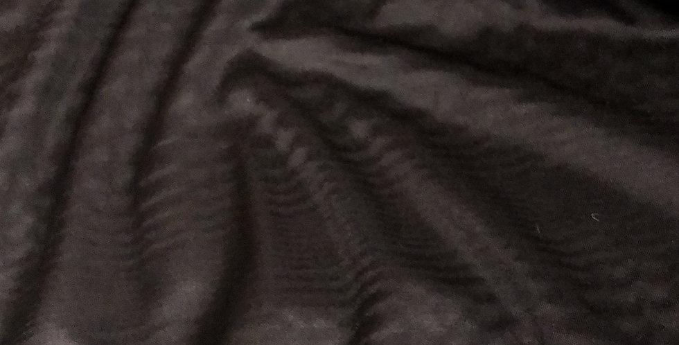 Textured black ripple Lycra