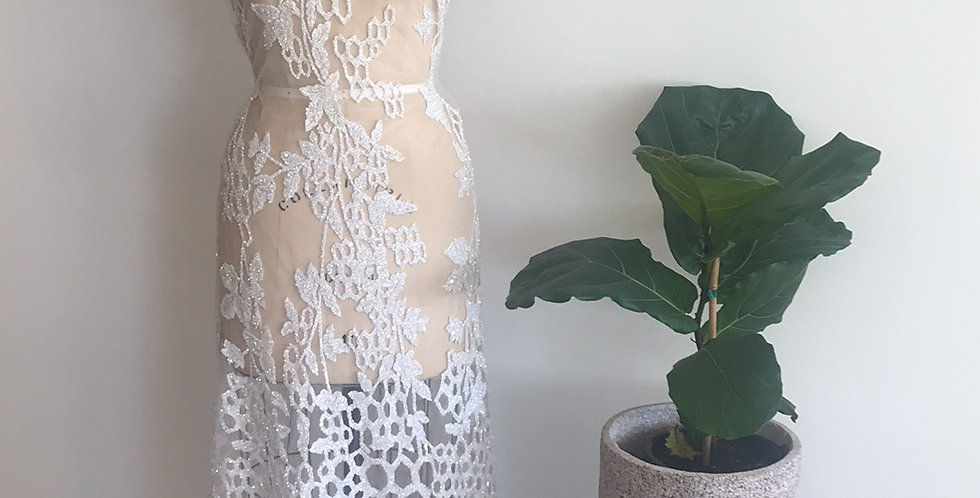 Celeste lace piece 60cm
