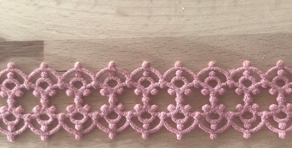Terracotta deco lace