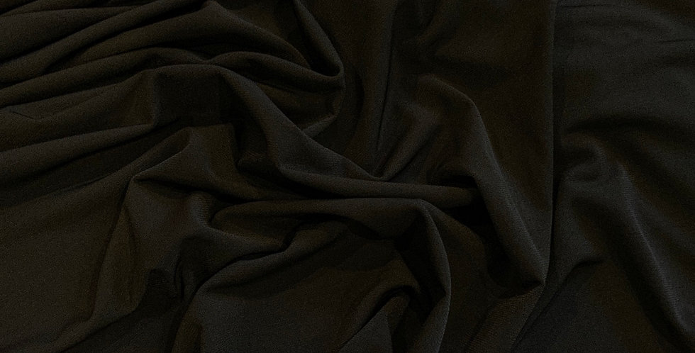 Black Polyester Jersey Knit...