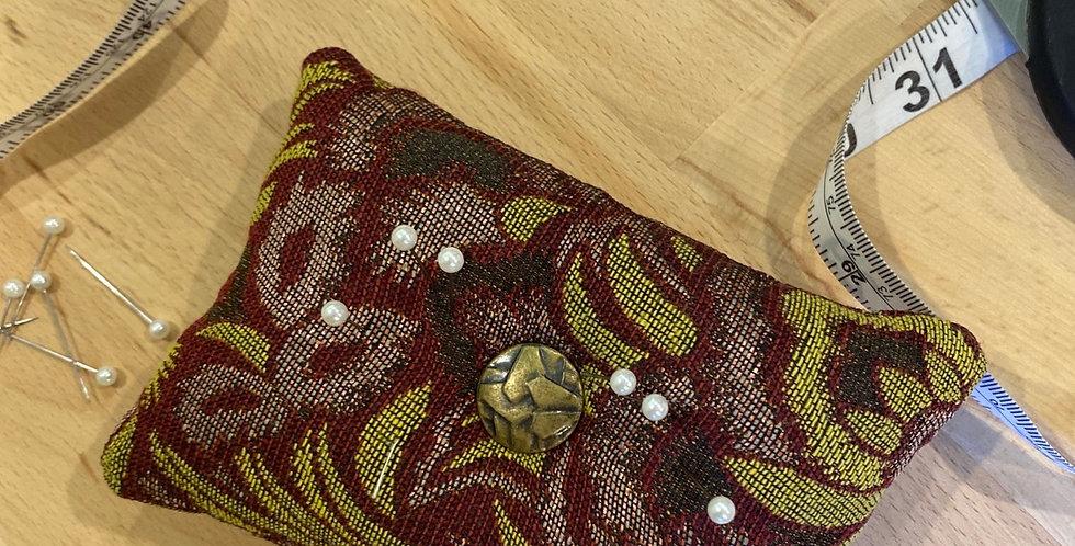 Merlot hand crafted pin cushion