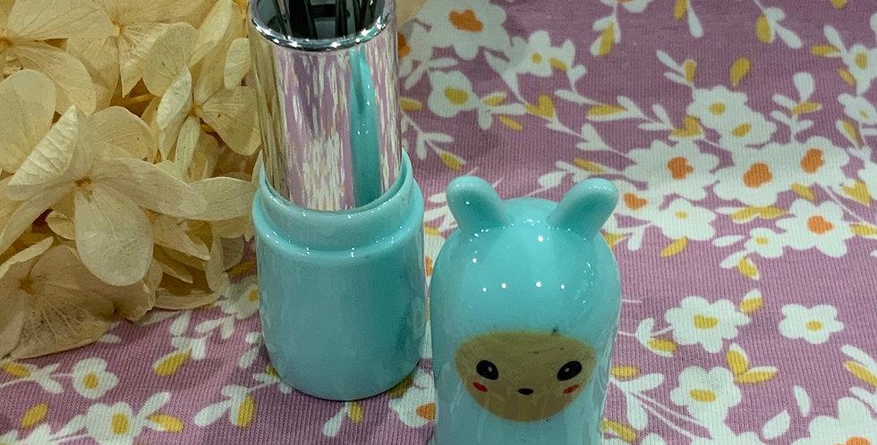 Kawaii Aqua Bunny Needle Case