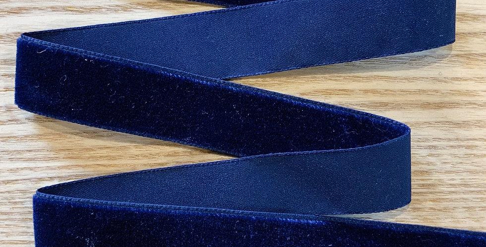 Navy 25mm Velvet Ribbon...