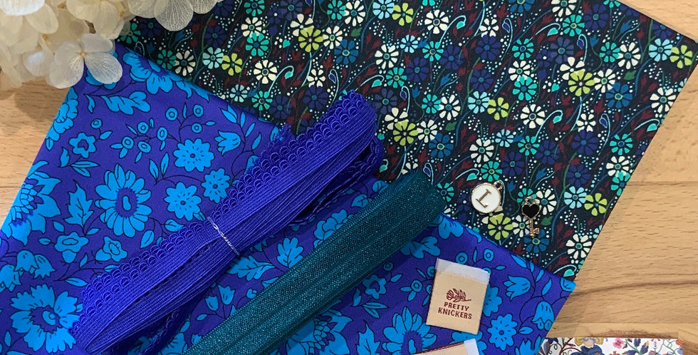 Liberty Teal Blossom Knickers Kit...