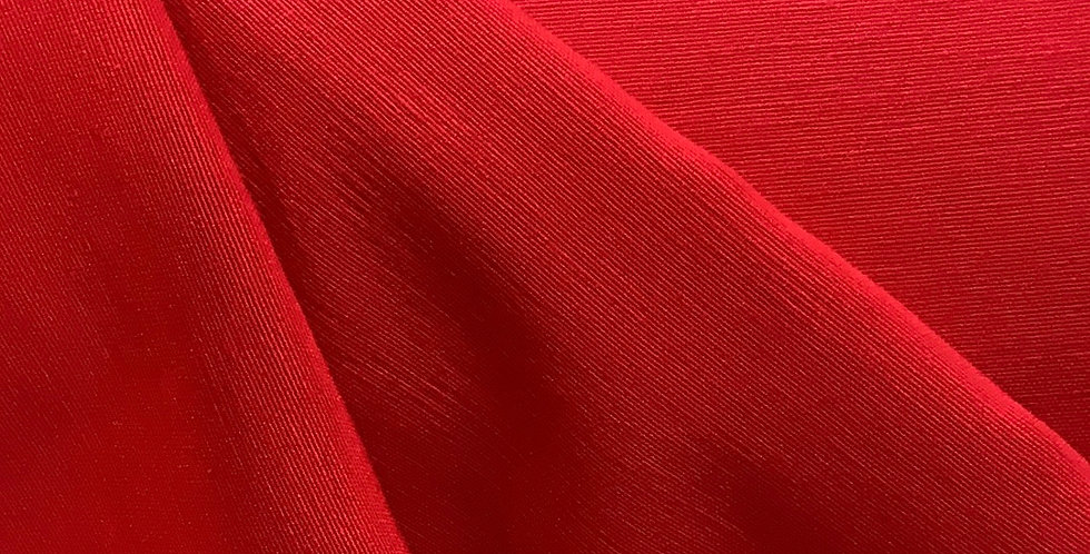 Red Satin Back Faille