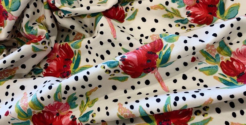 Art Gallery Fabrics WEST END GATHERS Knit 50cm piece
