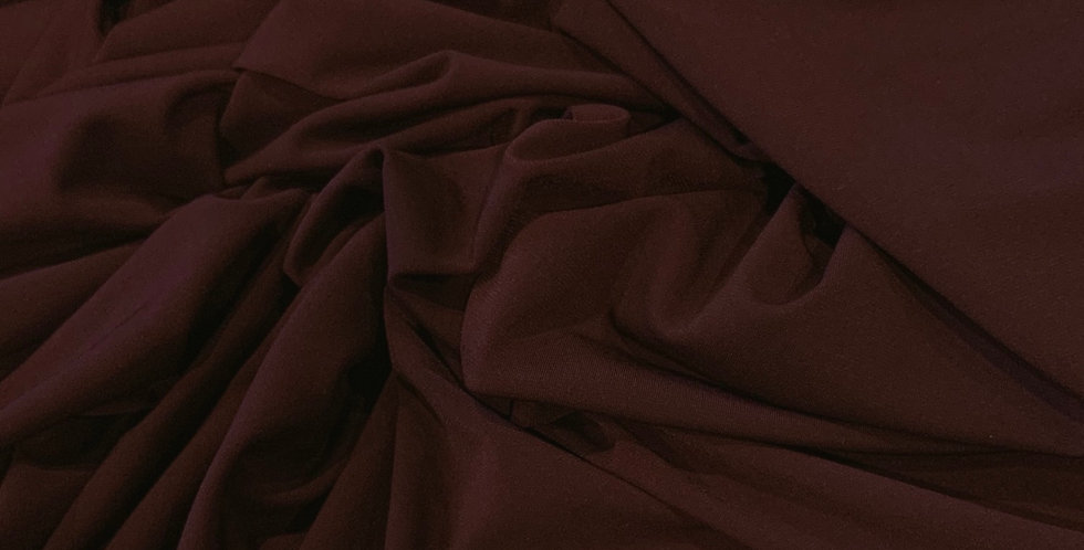 Maroon Polyester Jersey