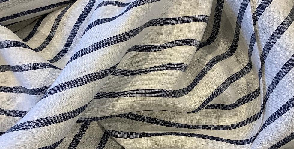 Blue Stripe Linen