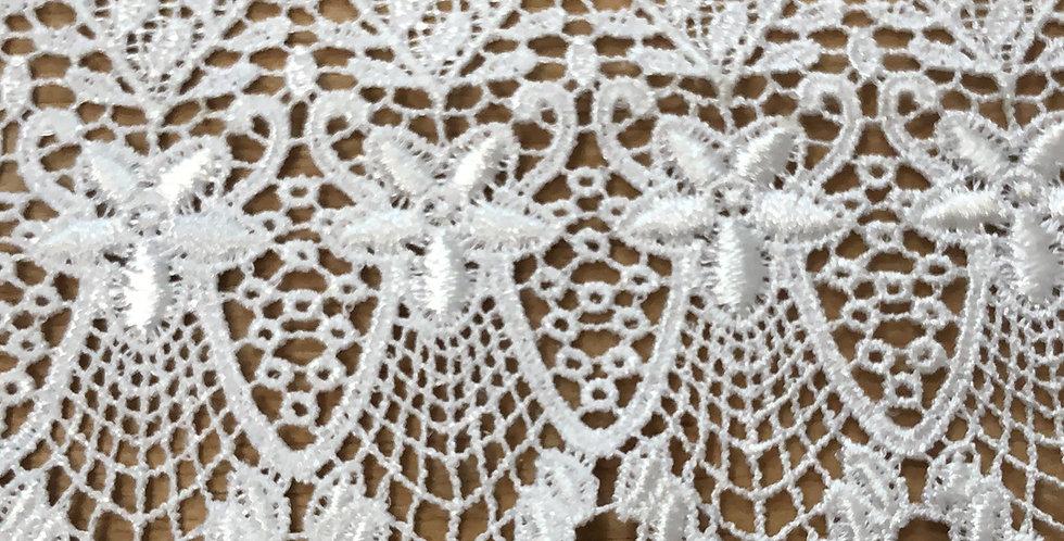 Patagonia White Lace Trim