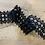 Thumbnail: Allie Black Guipure Insertion Lace