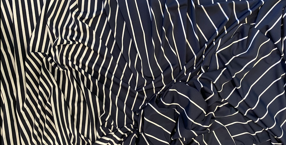 Veregated sailor stripe knit