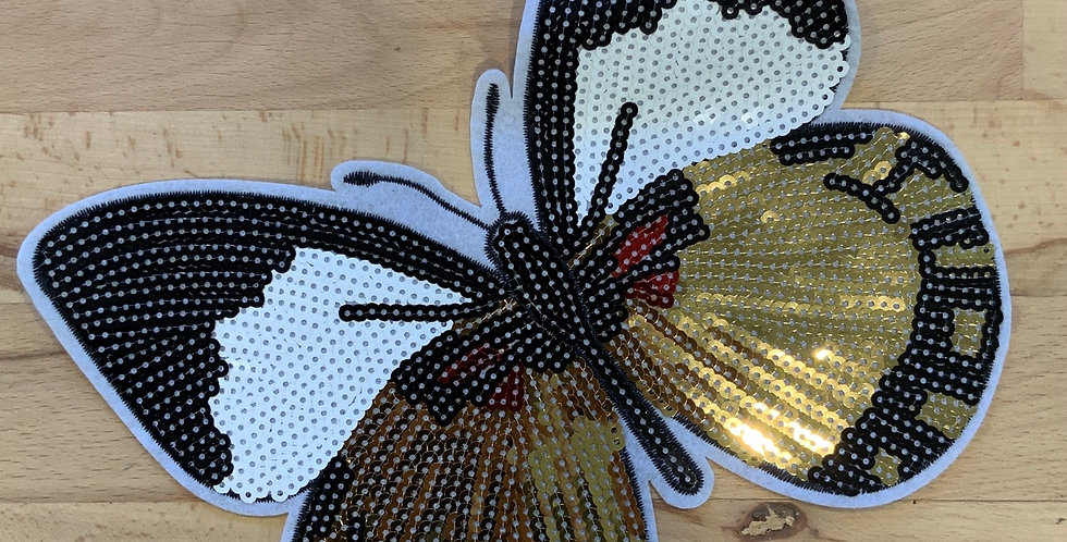 Large Sequin Butterfly Iron On Motif…